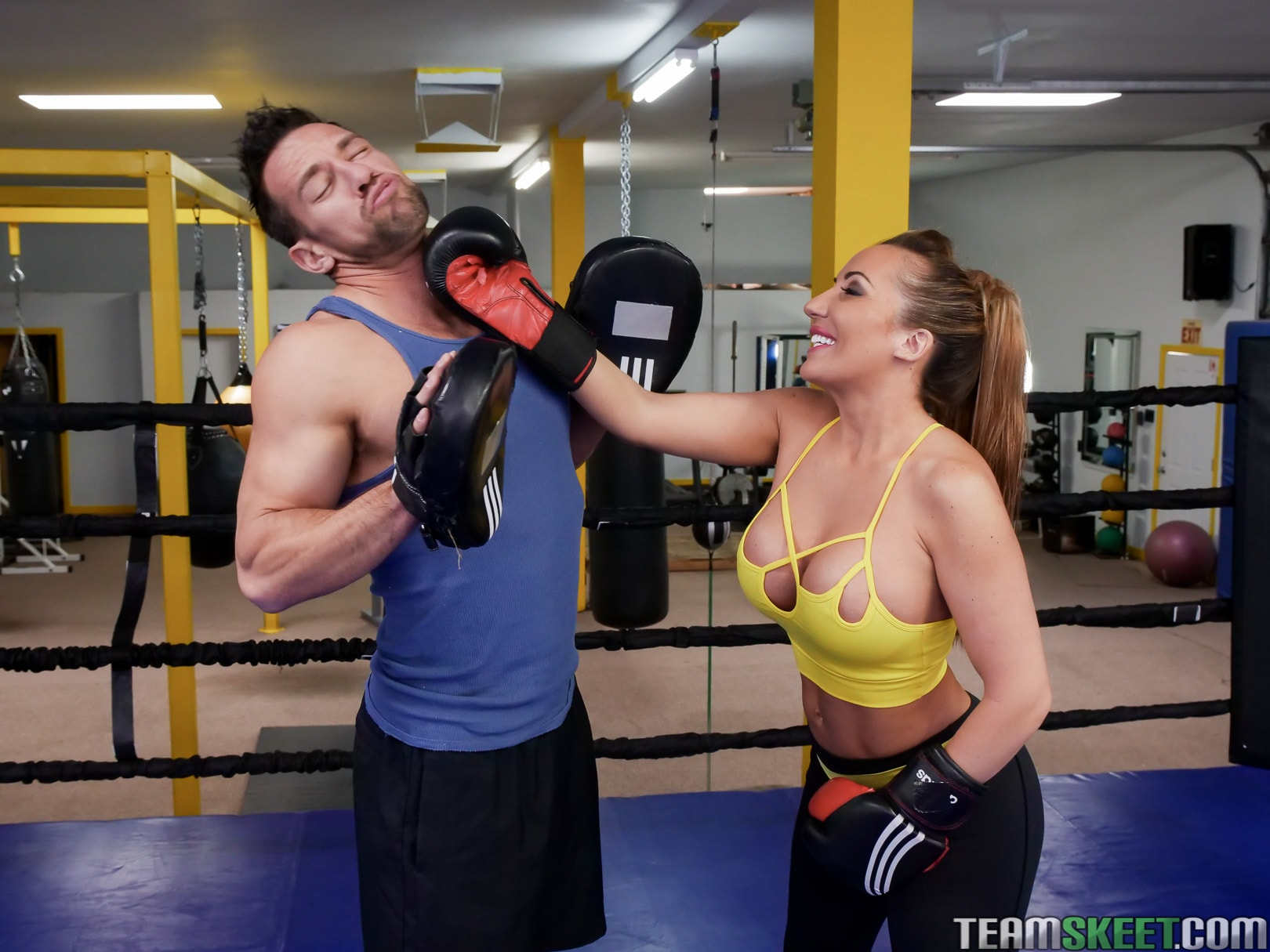 Team Skeet 'Busty Babe Goes Boxing' starring Ricelle Ryan (photo 63)