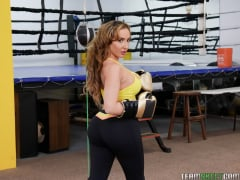Ricelle Ryan - Busty Babe Goes Boxing (Thumb 09)
