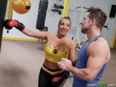 Ricelle Ryan - Busty Babe Goes Boxing (Thumb 45)
