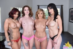 Ryder Skye - Sexy Milfs Swap Their Aggressive Teen Slut Daughte (Thumb 16)