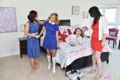 Ryder Skye - Sexy Milfs Swap Their Aggressive Teen Slut Daughte (Thumb 72)