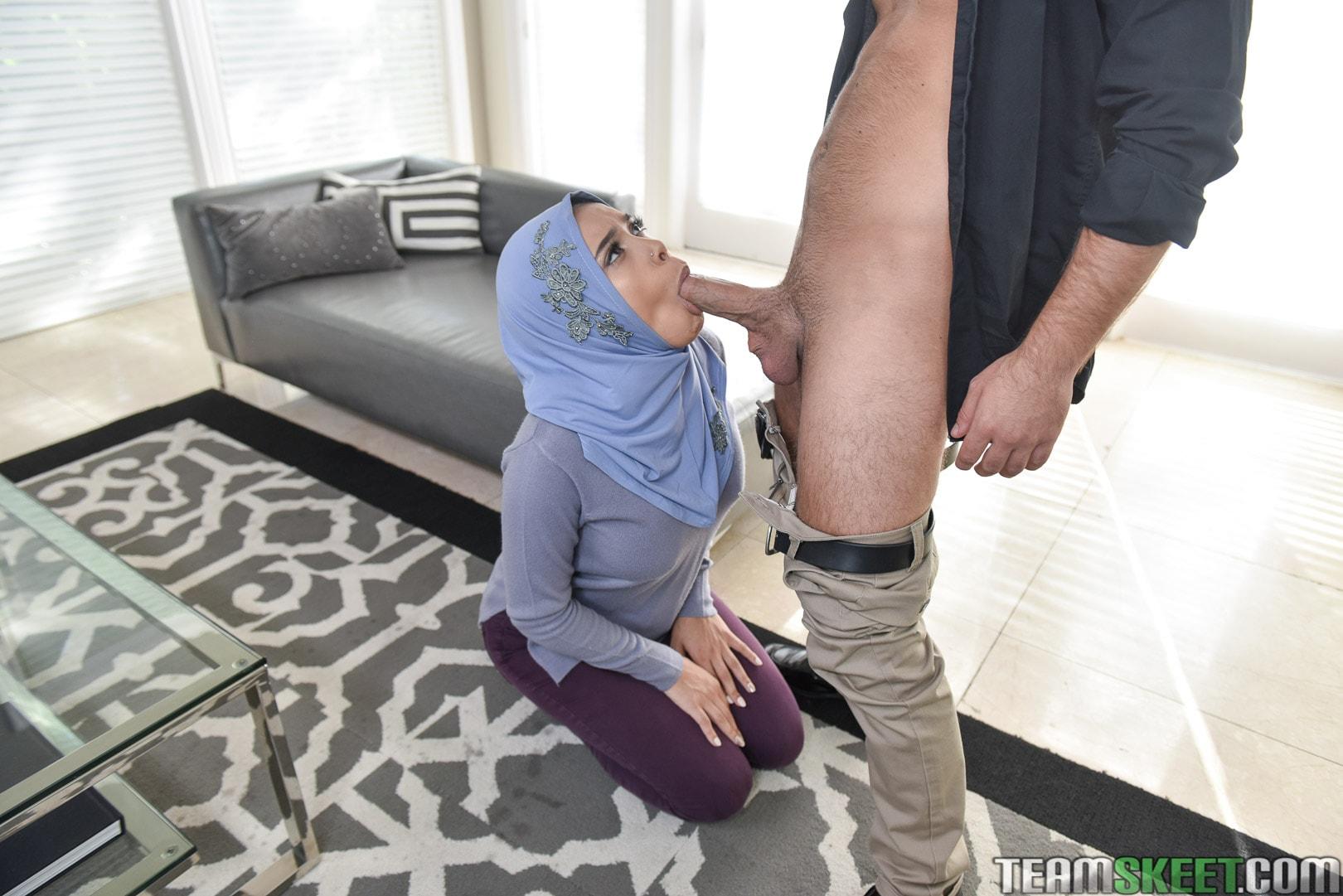 Team Skeet 'Teenage Anal In Her Hijab' starring Aaliyah Hadid (Photo 144)