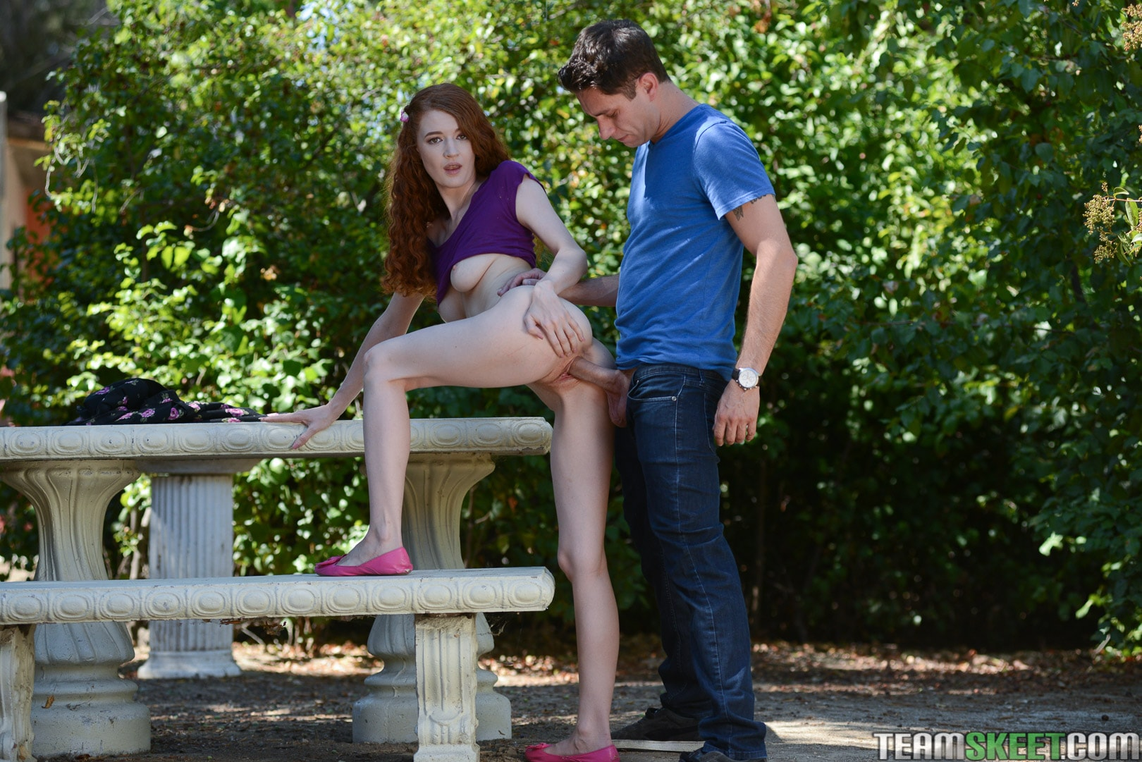 Team Skeet 'Natural Red Haired Beauty' starring Abbey Rain (photo 132)