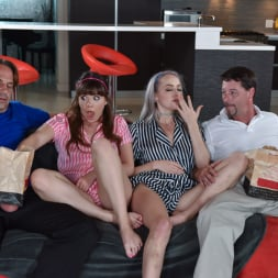 Alison Rey in 'Team Skeet' Movie Night Madness (Thumbnail 84)