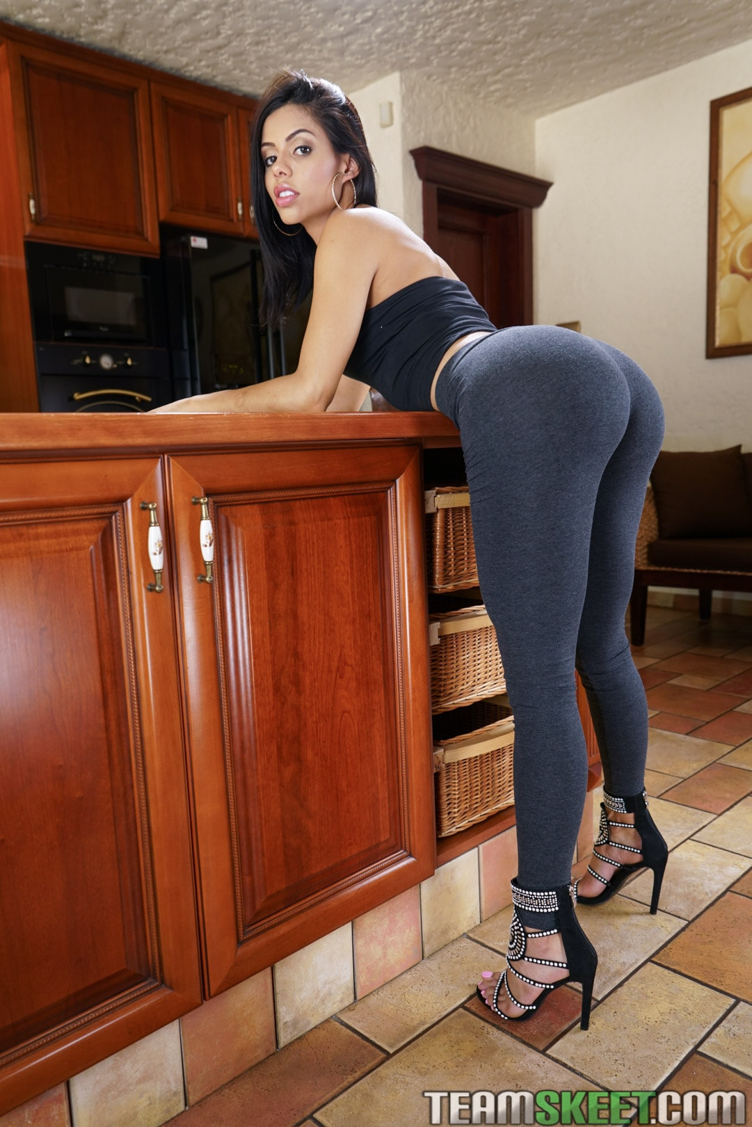 Team Skeet 'Sexy Latina Shows Us Her Positions' starring Canela Skin (Photo 1)