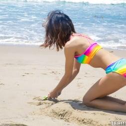 Jasmine Grey in 'Team Skeet' Petite Beach Babe Gets Boned (Thumbnail 6)