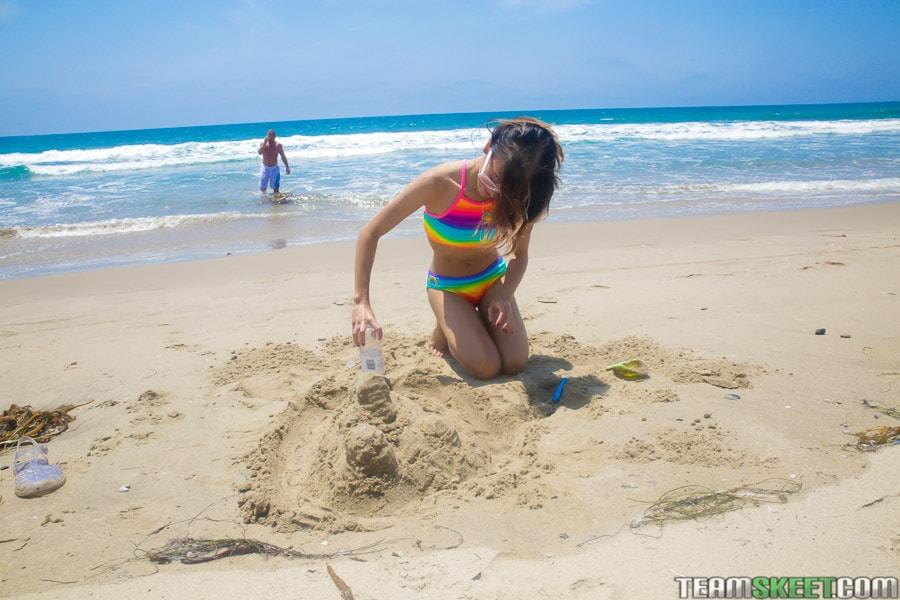 Team Skeet 'Petite Beach Babe Gets Boned' starring Jasmine Grey (Photo 30)
