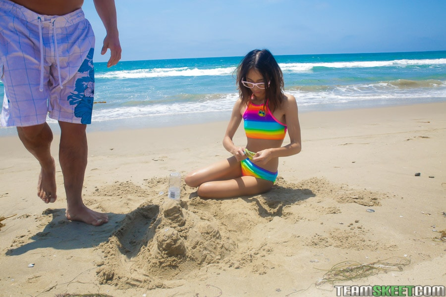 Team Skeet 'Petite Beach Babe Gets Boned' starring Jasmine Grey (Photo 36)