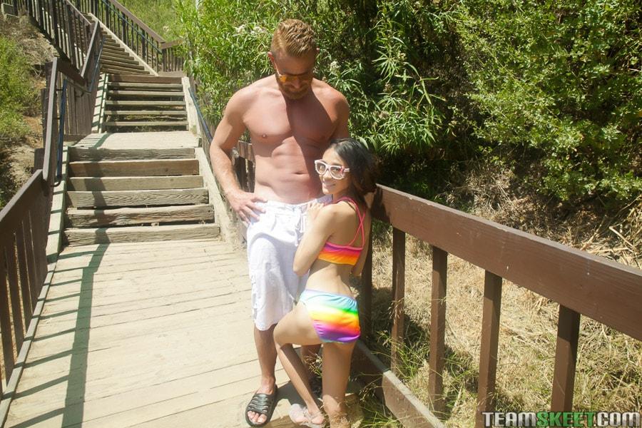 Team Skeet 'Petite Beach Babe Gets Boned' starring Jasmine Grey (Photo 48)