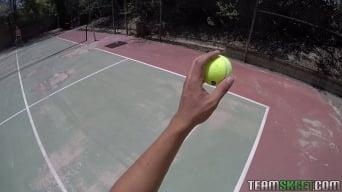 Karter Foxx in 'Tennis Training Gone Bad'
