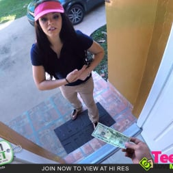Kimber Woods in 'Team Skeet' Delivery Girl Gets A Huge Tip (Thumbnail 2)