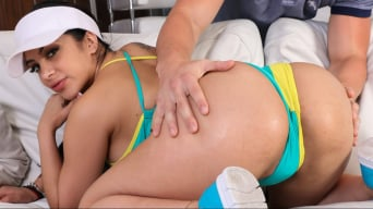 Kitty Caprice in 'Bump, Set, And Spike My Pussy'