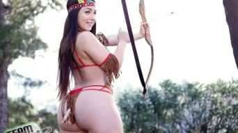 Lola Foxx in 'Poke This Pocahontas'