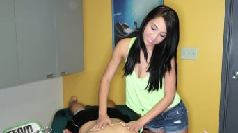 Mia Hurley in 'Mia The Mouth Masseuse'