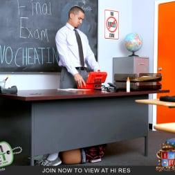 Natalie Monroe in 'Team Skeet' Schoolgirl Learns Her Lesson (Thumbnail 5)