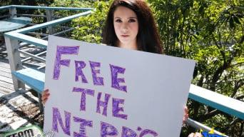 Noelle Easton in 'Free The Nipps!'