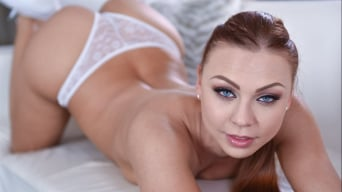 Ornella Morgan in 'Stunning Redhead Teen Gets Sex Before Bedtime'