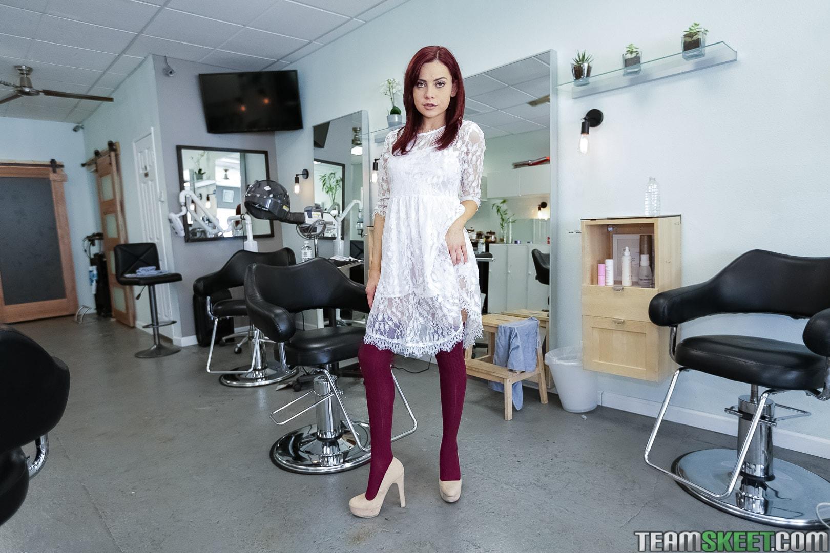 Team Skeet 'Full Service Hair Salon' starring Sabina Rouge (Photo 1)