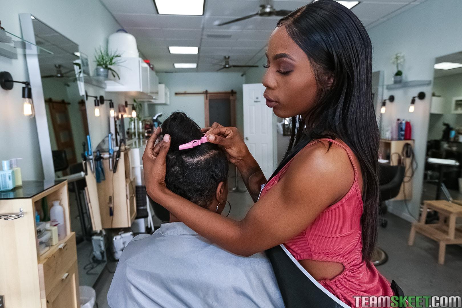 Team Skeet 'Full Service Hair Salon' starring Sabina Rouge (Photo 91)