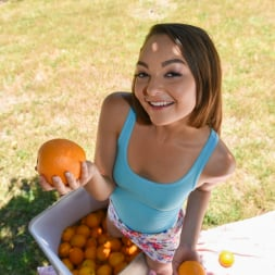 Sabrina Rey in 'Team Skeet' Orange You Glad Im So Tiny (Thumbnail 10)