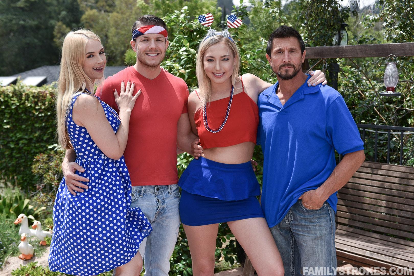 Team Skeet 'I Pledge Allegiance To My Father Figures Cock' starring Sarah Vandella (Photo 1)