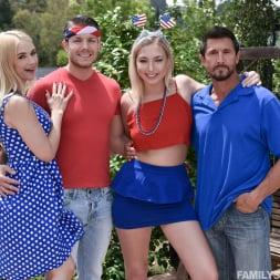 Sarah Vandella in 'Team Skeet' I Pledge Allegiance To My Father Figures Cock (Thumbnail 1)