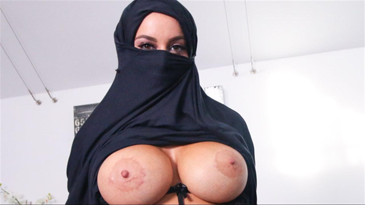 Muslim pornstar tits image